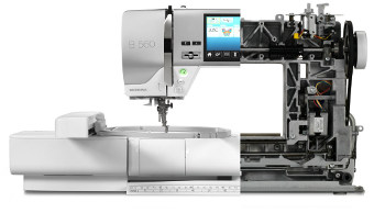Wzmocniona konstrukcja BERNINA 560