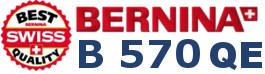 BERNINA B570 QE - Hafciarka dla firm
