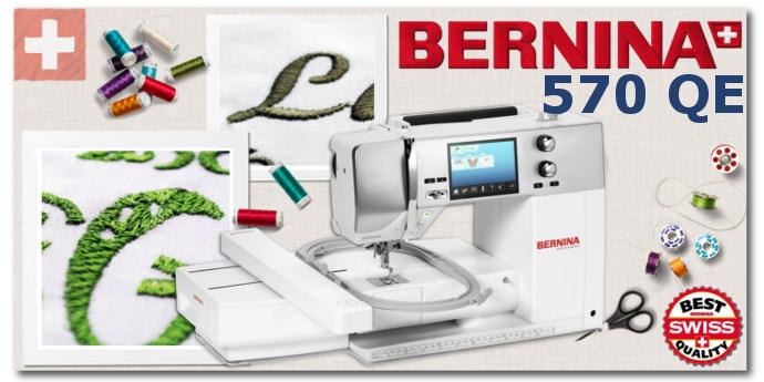 BERNINA B570 QE - Hafciarka komputerowa dla firm