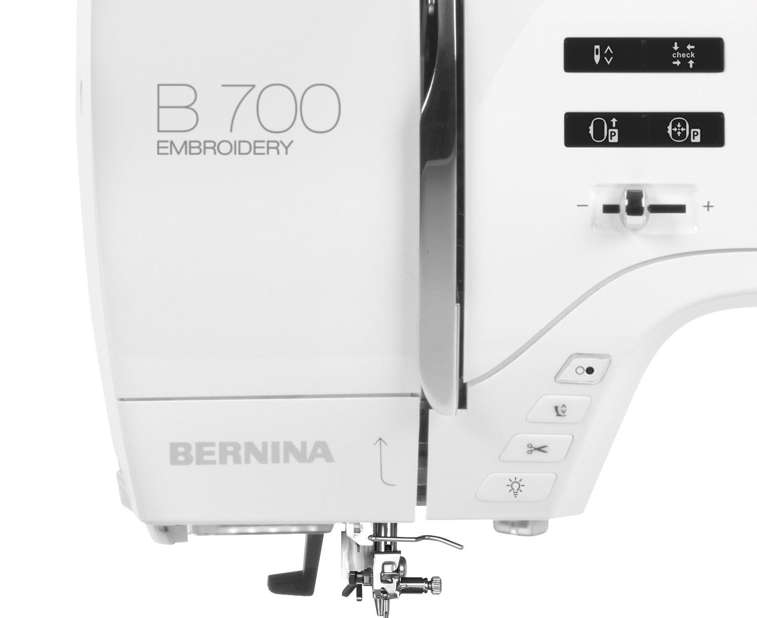 Przyciski sterujące - BERNINA B700