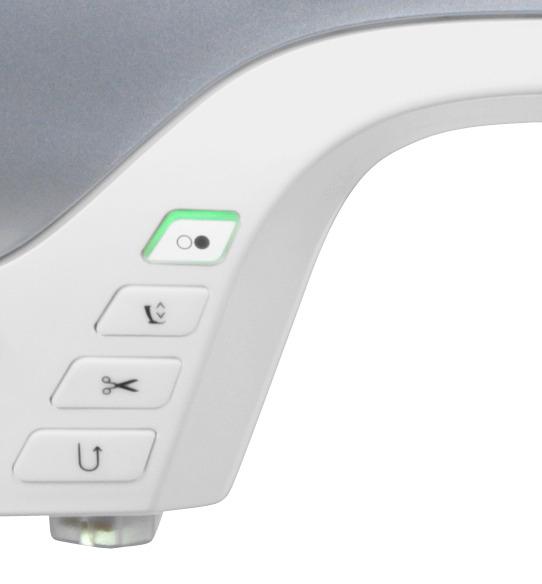 Maszyna do szycia B720 - Przyciski na obudowie