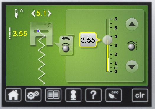 BERNINA 750 - Pełna kontrola ściegu