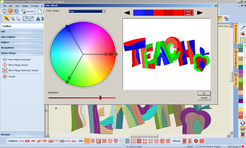 Color Wheel - Designer Plus