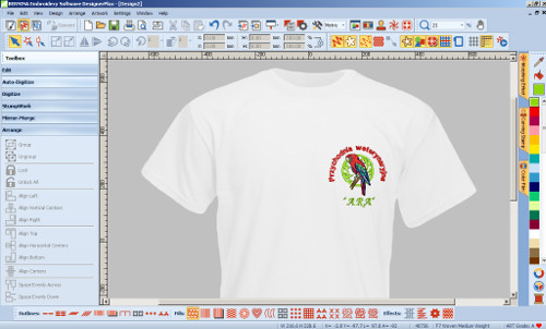 Designer Plus - Projektowanie haftu