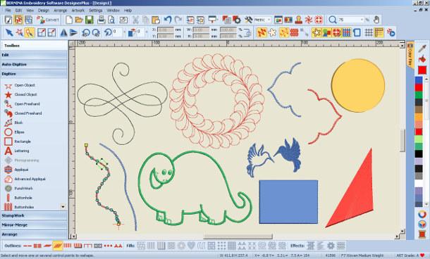 Ręczne rysowanie haftu - Designer Plus
