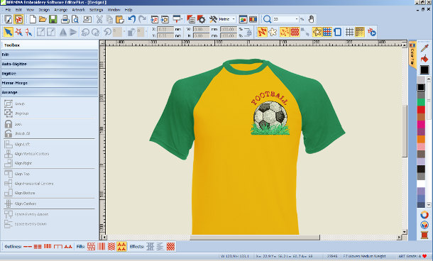 Bernina-Wilcom Embroidery Software Editor Plus