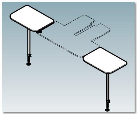 Dodatkowy stolik do hafciarki HAPPY HCD2X