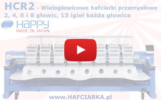 Przemysłowe hafciarki HAPPY HCR2