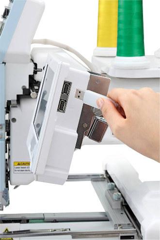 Odczyt haftów z PenDrive USB - Happy HCH