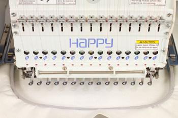 HAPPY HCR2 - Przemysłowa hafciarka komputerowa