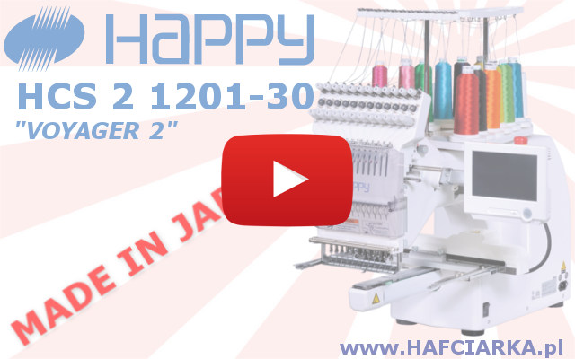 Hafciarka komputerowa 7-igłowa HAPPY HCS 2 1201-30