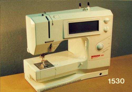 BERNINA 1530 - Pierwsza komputerowa maszyna do szycia marki BERNINA