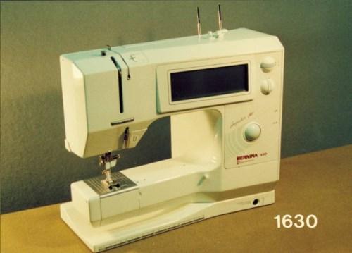 BERNINA model 1630 - Elektroniczna maszyna do szycia