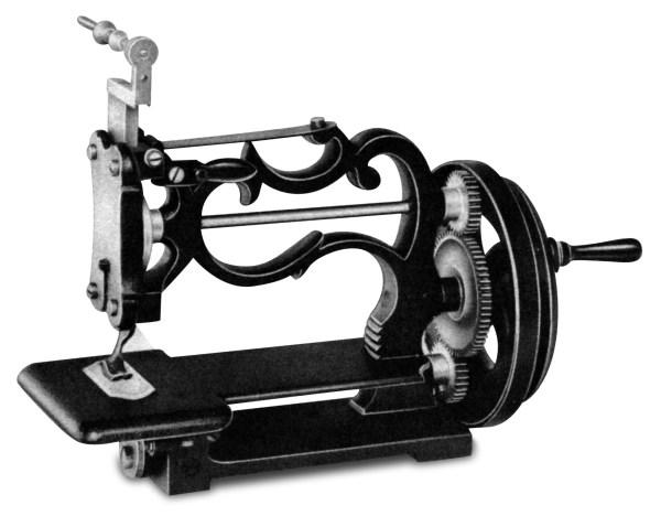 Maszyna do szycia firmy Grove & Baker z roku 1858