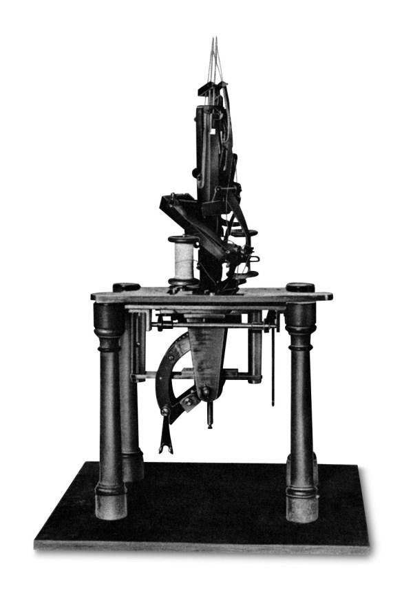 Maszyna do szycia Josef Madersperger - 1814 rok