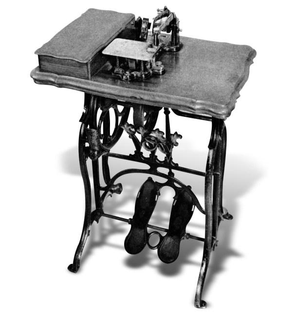 Maszyna do szycia Wheeler& Wilson - 1850 rok