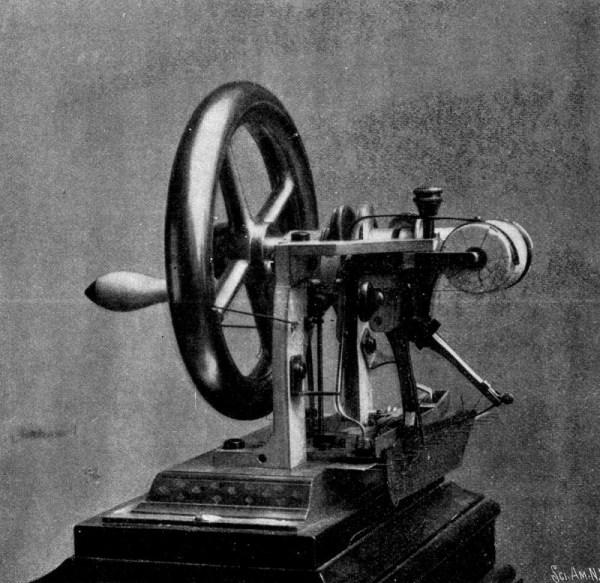 Maszyna do szycia - Elias Howe jr. rok 1846