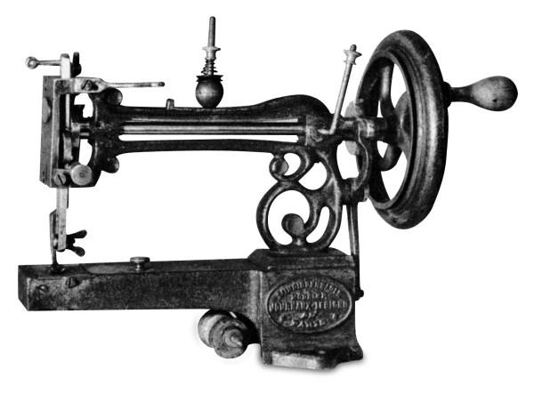 Maszyna do szycia z roku 1860 Francuskiej firmy Journaux-Leblond