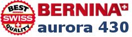 Hafciarka komputerowa BERNINA Aurora 430