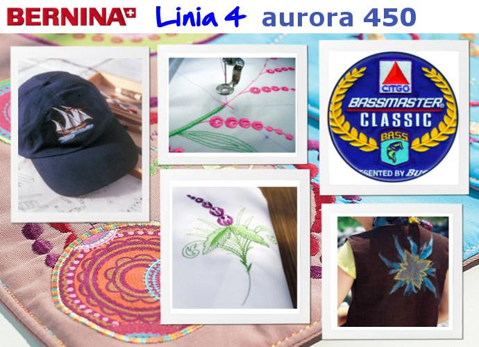 BERNINA Aurora 450 - Wyhaftuj Swój Biznes