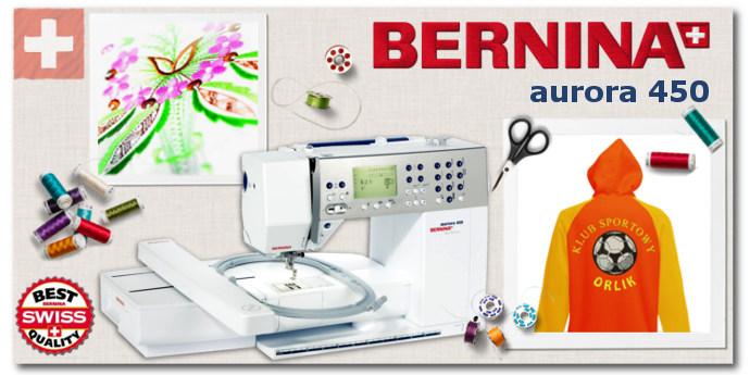 Hafciarka Komputerowa Bernina Aurora 450