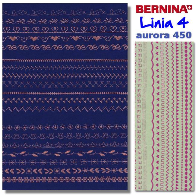 Aurora 450 - Szycie