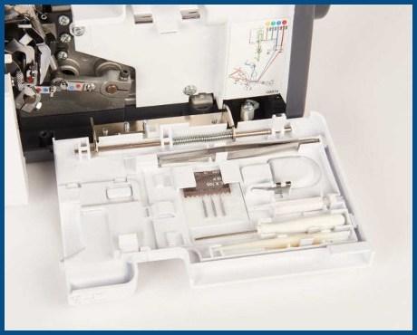 BERNINA bernette B42 Funlock - renderka, podszywarka - Akcesoria