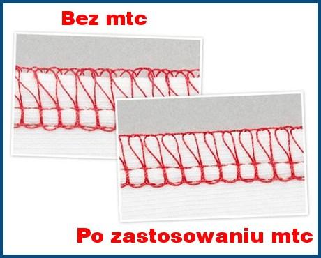BERNINA system MTC w overlockach