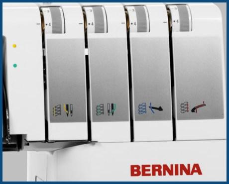 BERNINA L450 - Naprężacze