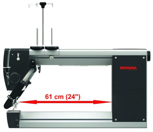 BERNINA Q24 - Ogromna przestrzeń wolnego ramienia - 61cm