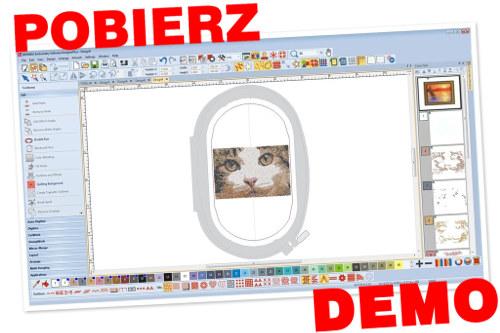 DEMO - Pobierz bezpłatne 30-dniowe demo programu BERNINA-WILCOM Designer Plus