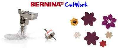 Bernina - CutWork - Wycinanie w tkaninie