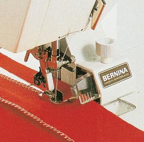 BERNINA - Użycie obcinacza krawędziowego