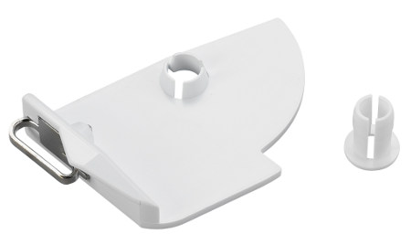 Adapter - prowadnik do nici metalicznych i jedwabnych