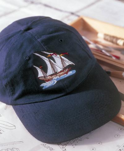Haft na czapkach - BERNINA
