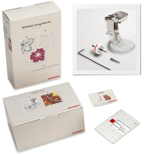 BERNINA zestaw do CutWorku