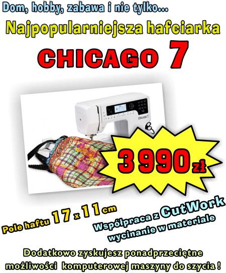 Chicago 7 - Domowa hafciarko-maszyna