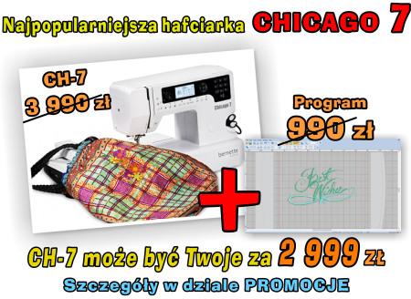 BERNINA CHICAGO 7 - PROMOCJA