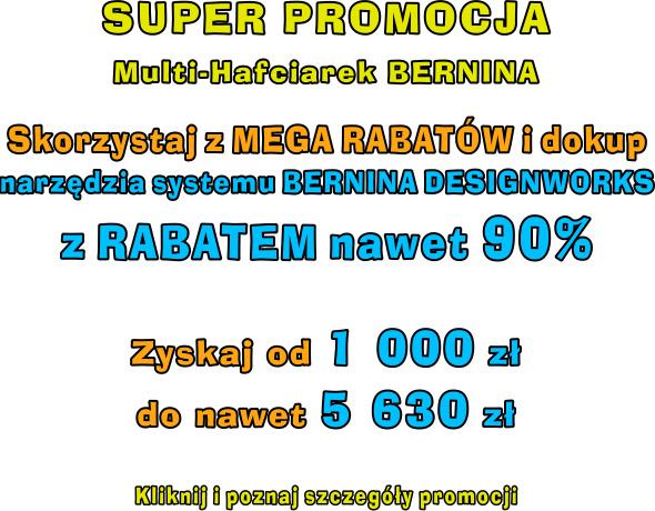 Promocja Multi-Hafciarek BERNINA