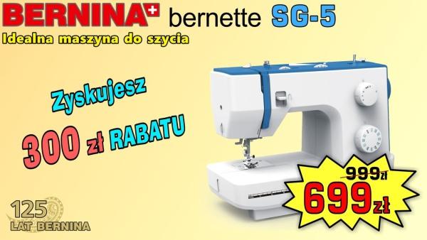 BERNINA Sew&Go 5 - Solidna maszyna do szycia