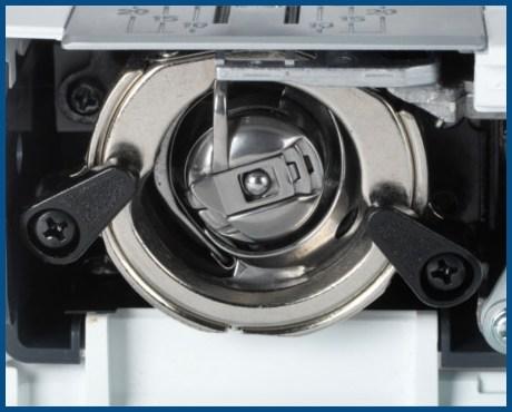 BERNINA bernette B35 - Mechaniczna maszyna do szycia dla początkujących - Metalowy chwytacz wahadłowy