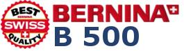BERNINA B500 - Multi-Hafciarka komputerowa bez funkcji szycia