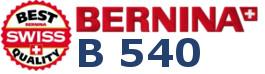 BERNINA B540 - Multi Hafciarka komputerowa dla firm