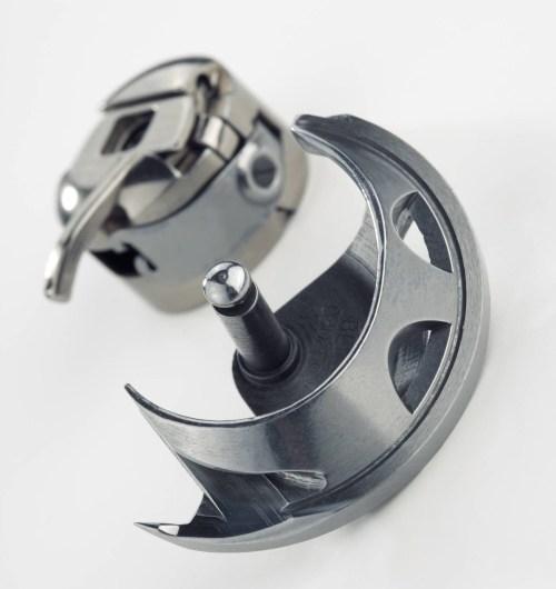 przemysłowy wahadłowy chwytacz stosowany w profesjonalnych hafciarkach i maszynach BERNINA