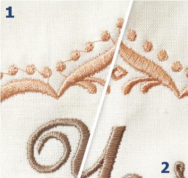 B700 - Funkcja cięcie nici i regulacji długości odcinak