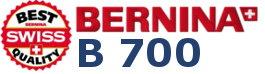 BERNINA 700 - Hafciarka komputerowa dla firm