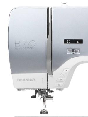 BERNINA 770 QE - Zaawansowana hafciarka komputerowa
