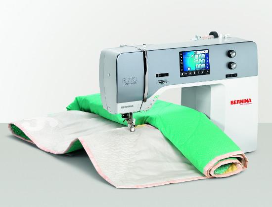 Komputerowa maszyna do szycia patchworku i pikowania - BERNINA 770 QE