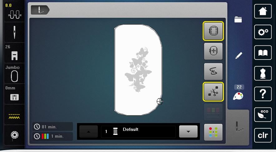 B700 - Ekran haftu