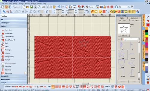 BERNINA Designer Plus - Carving Stamp